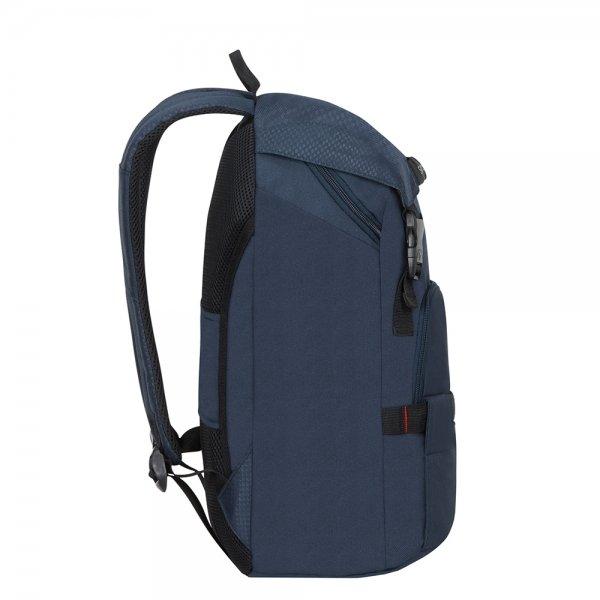 Samsonite Sonora Laptop Backpack M night blue backpack van Polyester