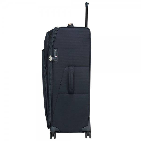 Samsonite Spark SNG Eco Spinner 82 Expendable eco blue Zachte koffer