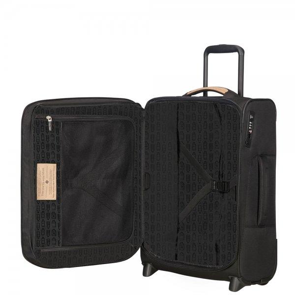 Samsonite Spark SNG Eco Upright 55 Expendable eco black Zachte koffer
