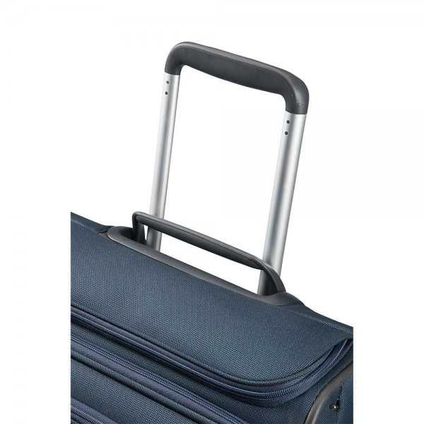 Samsonite Spark SNG Upright 55 Expandable Toppocket black Zachte koffer