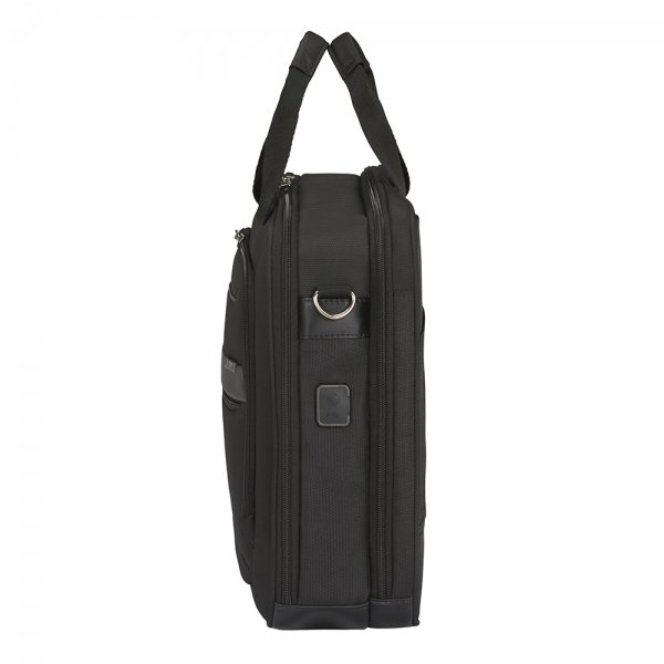 Samsonite Vectura Evo Laptop Bailhandle 17.3'' black van Polyester