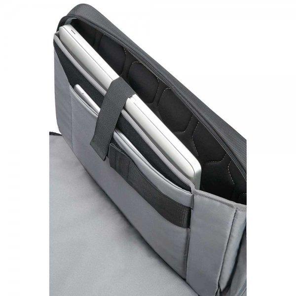 Samsonite XBR Bailhandle 3C 15.6'' expandable black van Polyester
