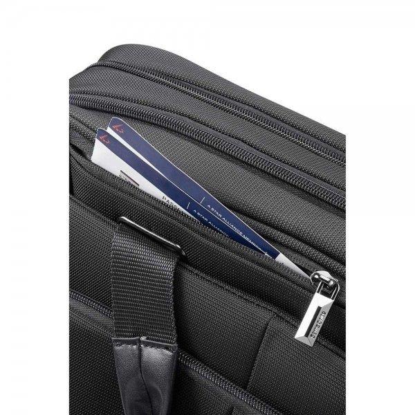 Samsonite XBR Bailhandle Slim 2C 15.6'' black van Polyester