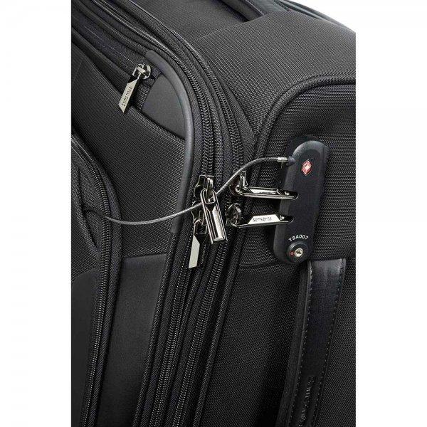 Samsonite XBR Mobile Office Spinner 55 black Zachte koffer van Nylon