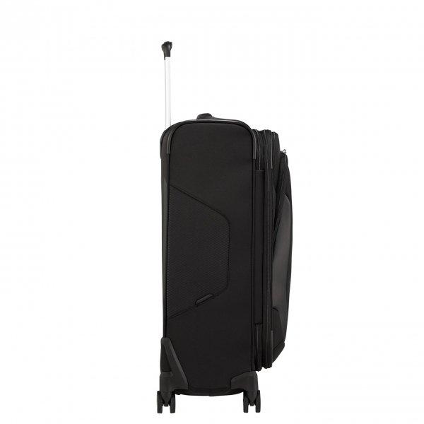 Samsonite X'Blade 4.0 Spinner 63 Exp black Zachte koffer van Polyester