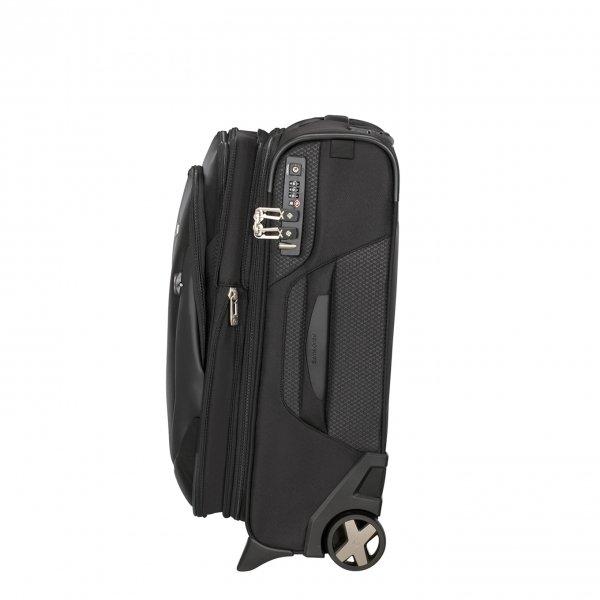 Samsonite X'Blade 4.0 Upright 55 Exp black Zachte koffer van Polyester