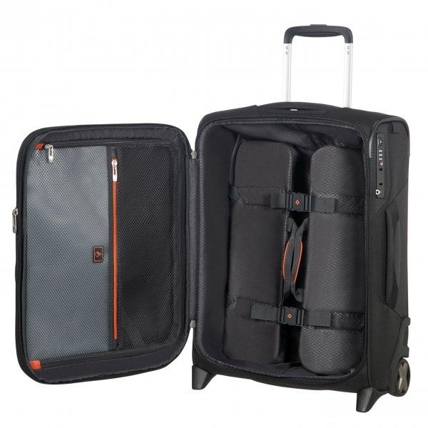 Samsonite X'Blade 4.0 Upright 55 Exp black Zachte koffer