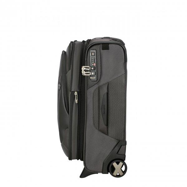 Samsonite X'Blade 4.0 Upright 55 Exp grey/black Zachte koffer van Polyester