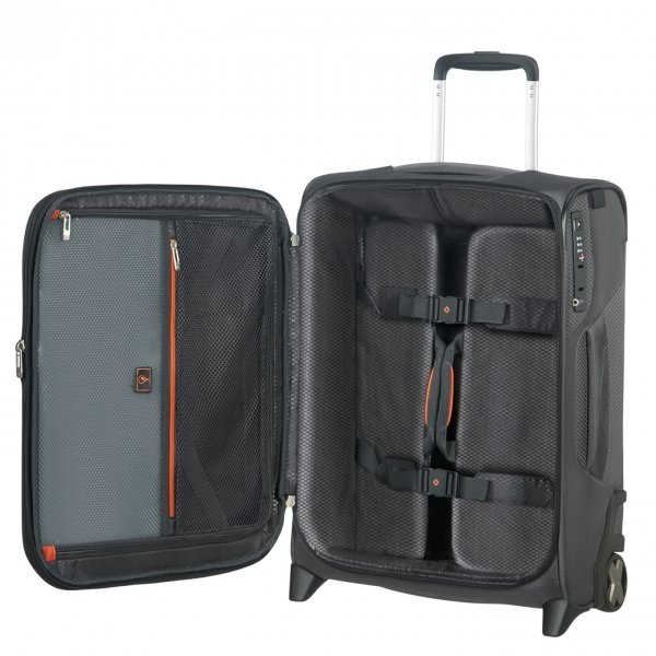Samsonite X'Blade 4.0 Upright 55 Exp grey/black Zachte koffer