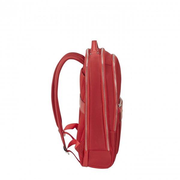 Samsonite Zalia 2.0 Backpack 15.6'' classic red backpack van Nylon
