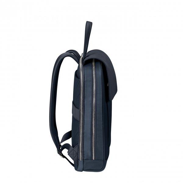 Samsonite Zalia 2.0 Backpack Flap 14.1'' midnight blue backpack van Nylon