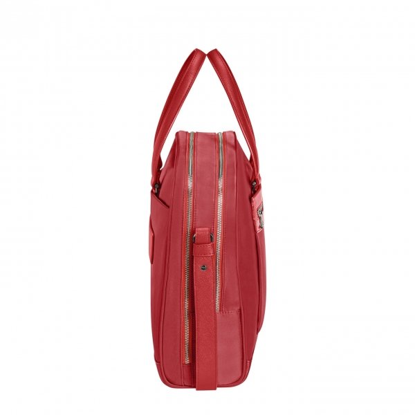 Samsonite Zalia 2.0 Bailhandle 2 Comp. 15.6'' classic red van Nylon