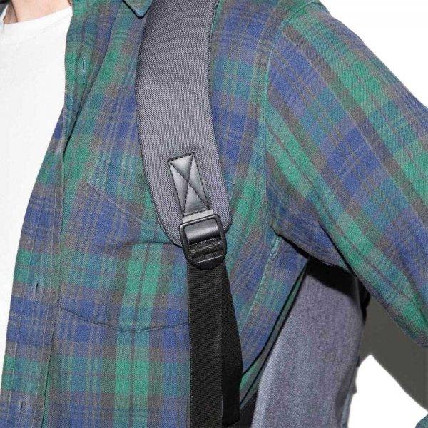 Sandqvist Hans Backpack dark grey backpack van Nylon