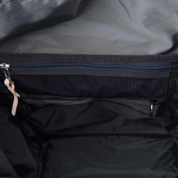 Sandqvist Harald Backpack multi beige / blue with natural leather backpack