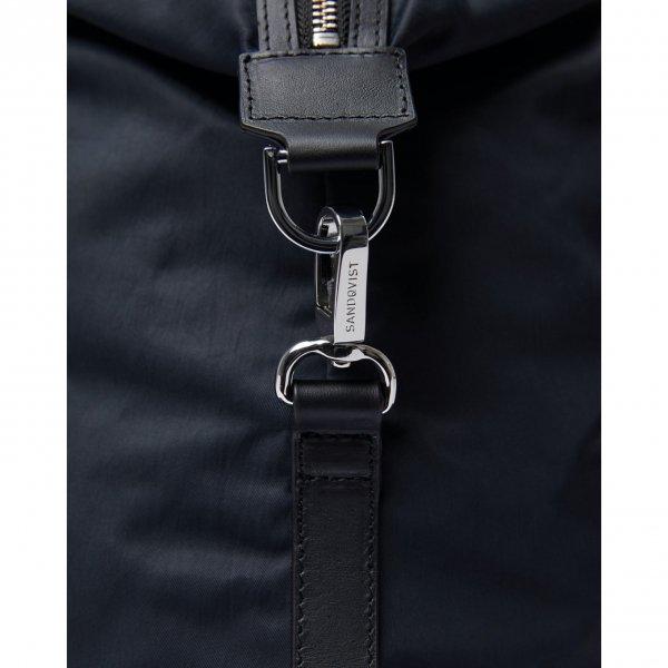 Sandqvist Hellen Gym Bag black with black leather