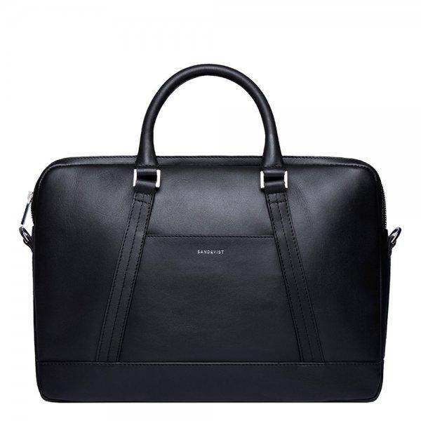Sandqvist Melker Briefcase black