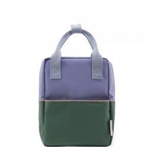 Sticky Lemon Colourblocking Backpack Small moustafa purple / henckles blue / movie green Kindertas