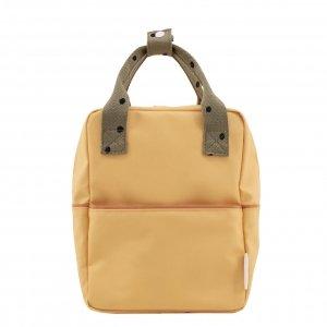 Sticky Lemon Original Backpack Small retro yellow Kindertas