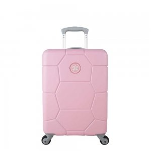 SuitSuit Caretta Evergreen Trolley 53 pink lady Harde Koffer