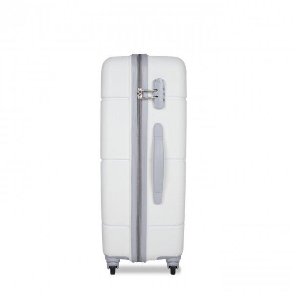 SuitSuit Caretta Trolley 65 whisper white Harde Koffer van ABS