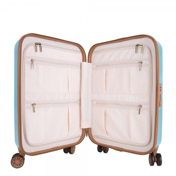 SuitSuit Fab Seventies Handbagage Trolley 55 reef water blue Harde Koffer van Polycarbonaat