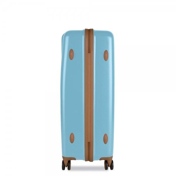 SuitSuit Fab Seventies Trolley 76 reef water blue Harde Koffer van Polycarbonaat