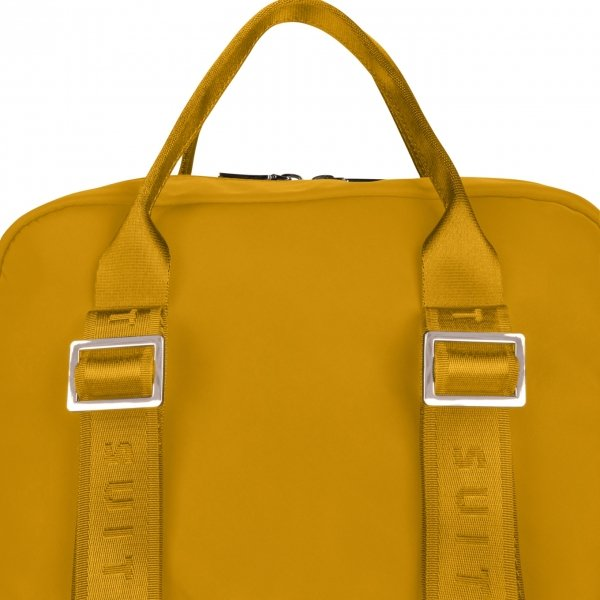 SuitSuit Natura Laptop Rugtas honey backpack van Polyester