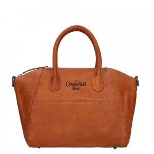 The Chesterfield Brand Alexa Shoulderbag cognac Damestas