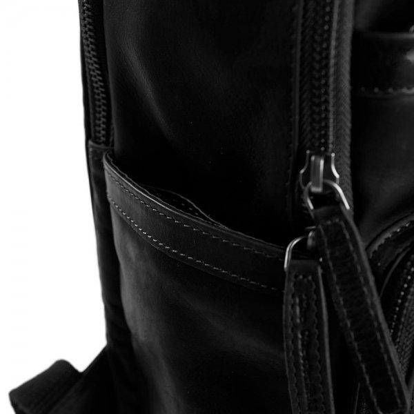 The Chesterfield Brand Austin Backpack black backpack