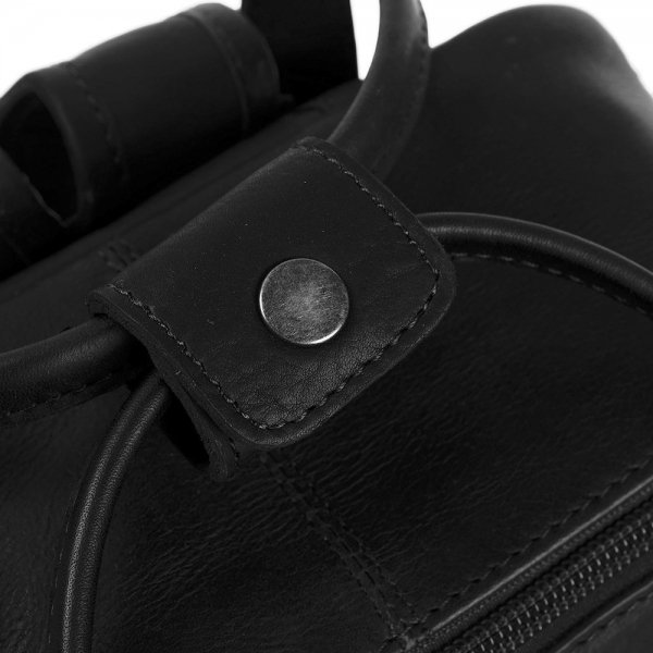 The Chesterfield Brand Bellary Rugzak black Damestas van Leer