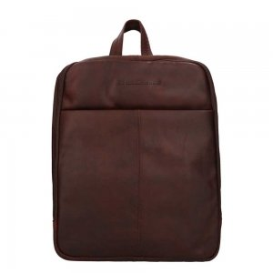 The Chesterfield Brand Dex Laptop Backpack brown backpack
