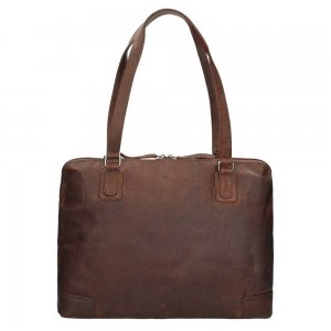 The Chesterfield Brand Flint Shoulderbag Large brown