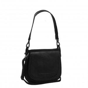 The Chesterfield Brand Jersey Schoudertas black Damestas
