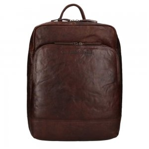 The Chesterfield Brand Maci Backpack 15.4'' brown backpack