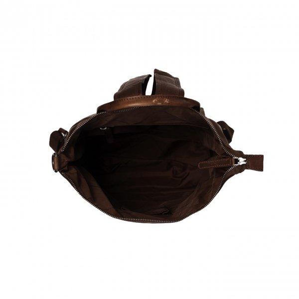 The Chesterfield Brand Manchester Backpack brown Damestas van Leer