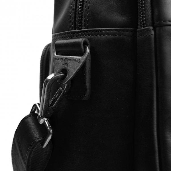The Chesterfield Brand Misha Laptoptas black van Leer