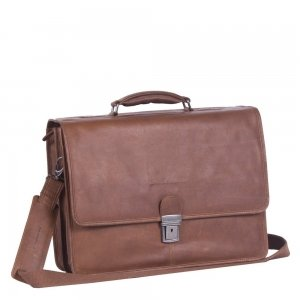 The Chesterfield Brand Shay Laptopbag cognac
