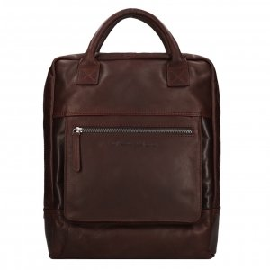 The Chesterfield Brand Yonas Laptop Backpack brown backpack