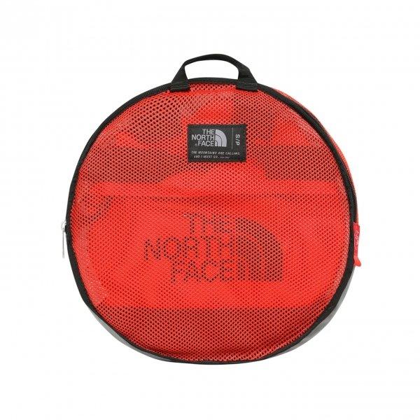 The North Face Gilman Duffel S tnf black / mid grey / fiery red Weekendtas