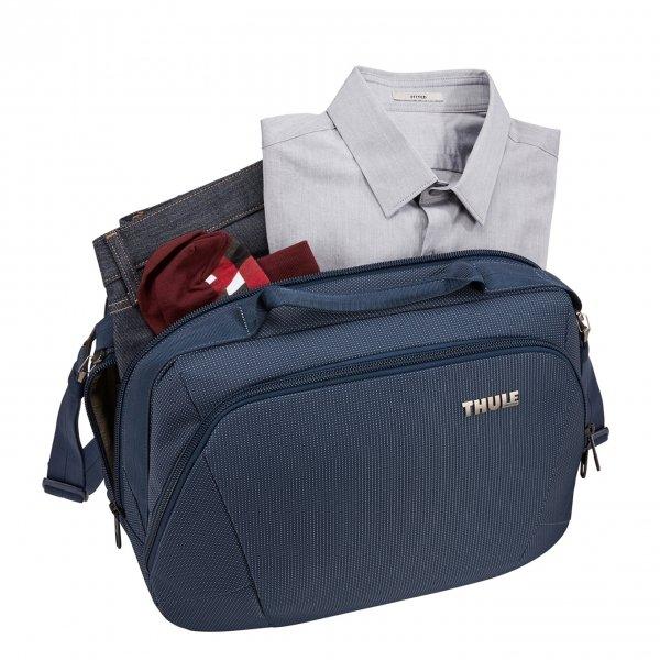 Thule Crossover 2 Boarding Bag dress blue Weekendtas van Nylon