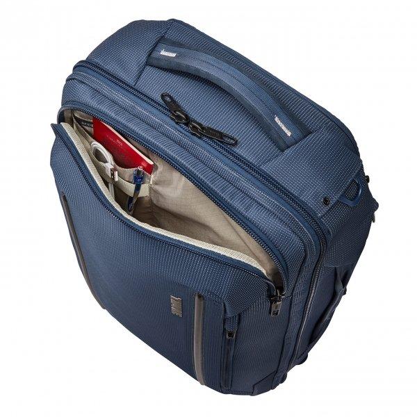 Thule Crossover 2 Convertible Carry On dress blue Weekendtas van Nylon