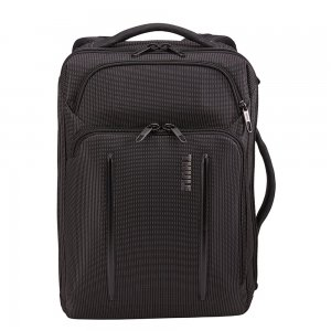 """Thule Crossover 2 Convertible Laptop Bag 15.6"""" black backpack"""