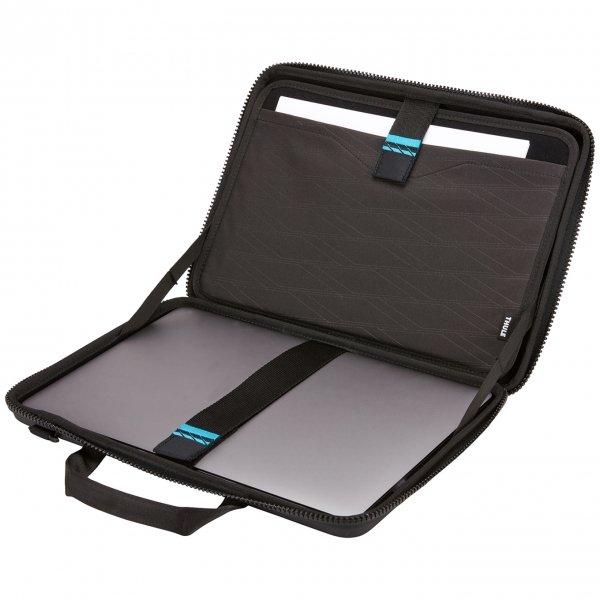 """Thule Gauntlet Macbook Pro Attaché 15"""" black van Imitatie leer"""