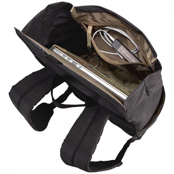 Thule Lithos Backpack 16L black backpack van Polyester