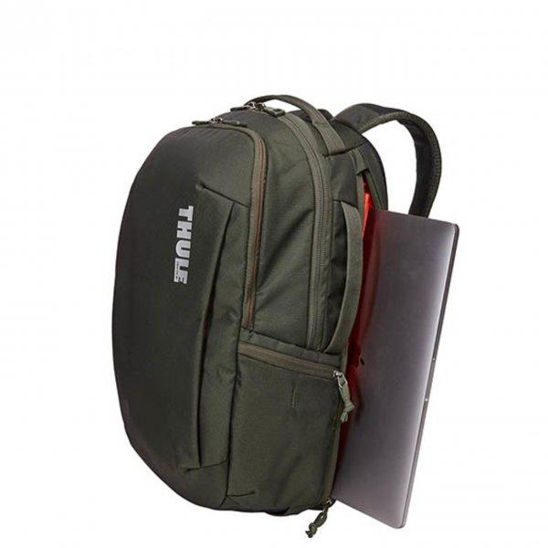 Thule Subterra Backpack 30L dark forest backpack van Nylon