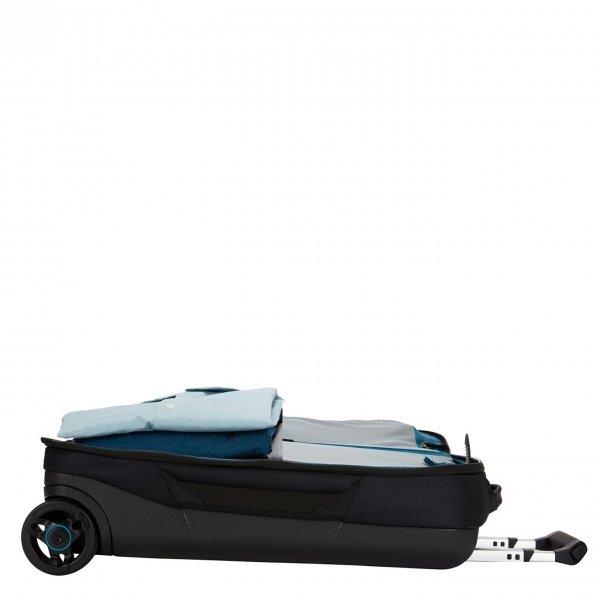 Thule Subterra Carry-On 55 black Zachte koffer van Nylon