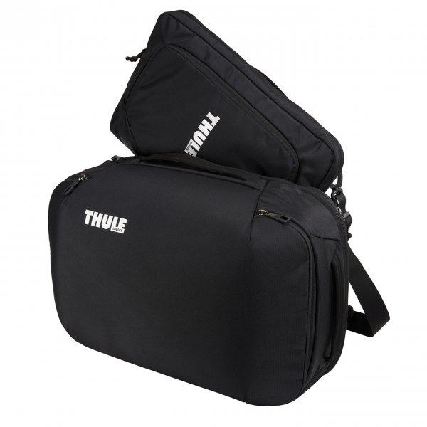 Thule Subterra Convertible Carry On black Weekendtas van Nylon