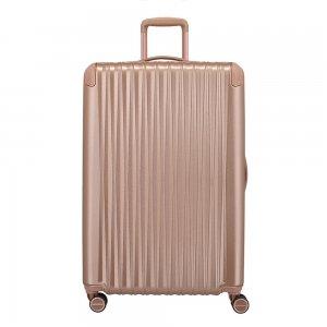 Titan Barbara Glint 4 Wiel Trolley L rose metallic Harde Koffer