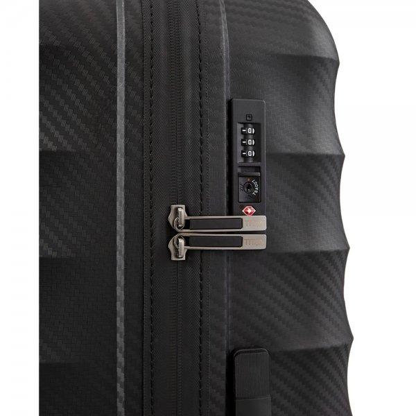 Titan Highlight 4 Wiel Trolley L black Harde Koffer