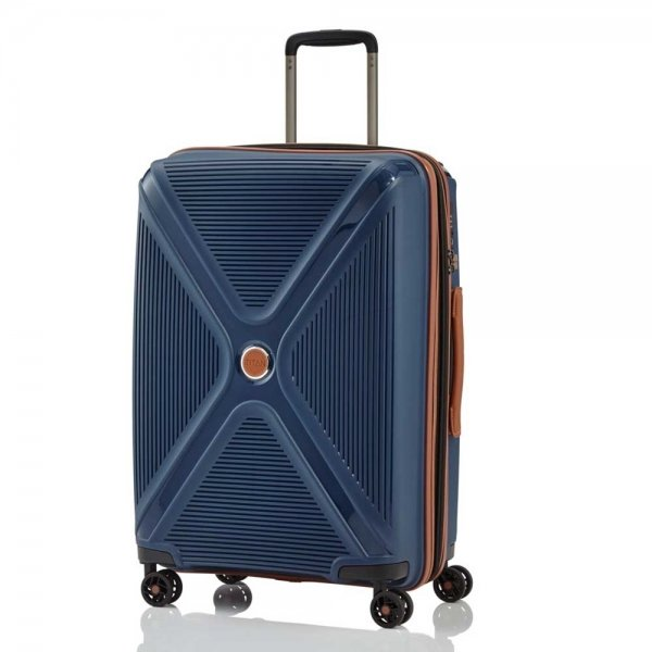 Titan Paradoxx 4 Wiel Trolley M Expandable navy Harde Koffer